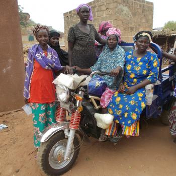 Gute Nachrichten, bonnes nouvelles, good news aus Mali